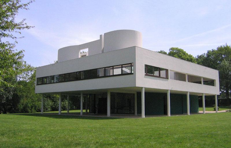 Villa savoye less is better - Le corbusier villa savoye ...